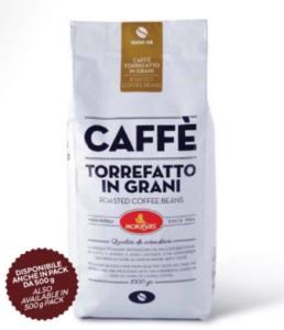 Caffe' oro in grani
